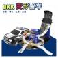BKK城市警察指挥中心套装警车玩具三四五六周岁男孩益智玩具男